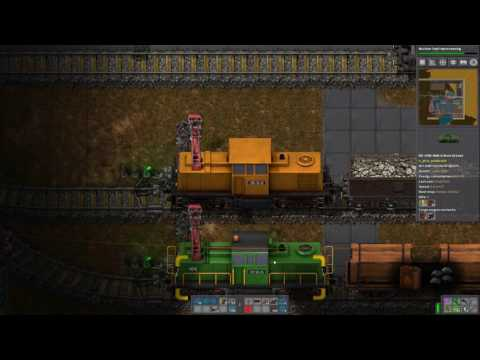 Factorio - Yuoki Industries - SP89 - Lokomotiv Tender Konzept Test