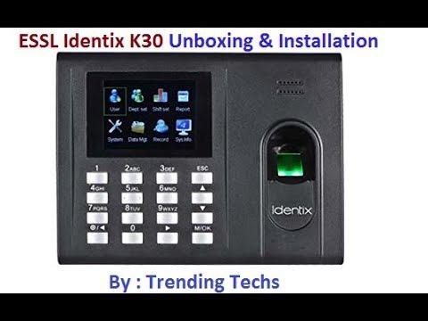 ESSL Identix K30 Pro ID+B Biometric Attendance Machine