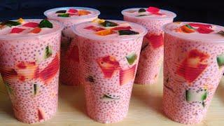 Sabudana Dessert | Ramadan Ifter Drinks | Sago Drinks