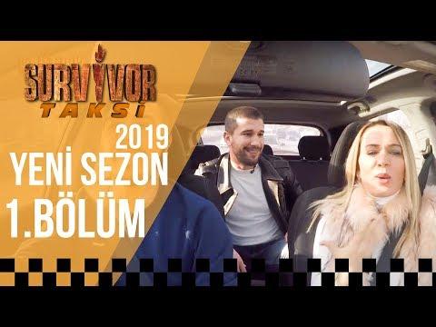 Survivor 2018'in Finalistleri Adem Kılıççı ve Nagihan Karadere Survivor Taksi'de   1.Bölüm