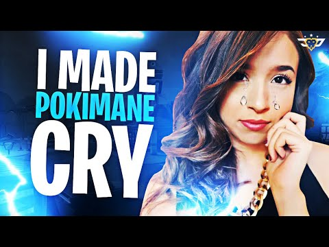 I MADE POKIMANE CRY! SHE LEAVES THE PARTY! Fortnite: Battle Royale