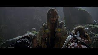 """Капитан Джек Воробей """"перепутал"""" чаши. Смерть Черной Бороды. Филип и Сирена. HD"""