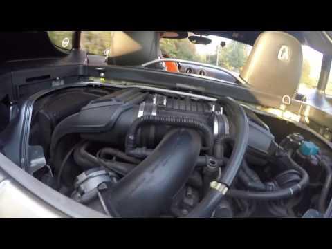Porsche Cayman Engine 987-1 power steering pump test clip