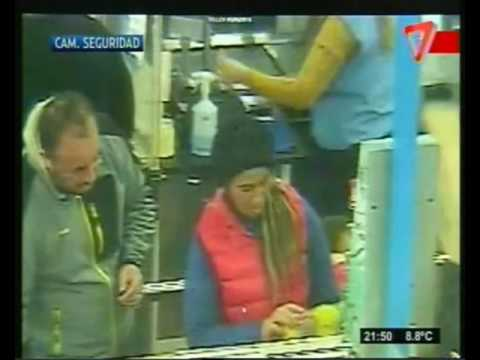 Video de la polémica: se conoció la filmación del incidente de Roberto Macho en un hipermercado