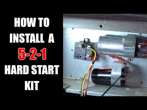 How To Install a 3 Wire 521 Hard Start Kit - YouTubeYouTube