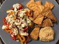 What I Ate On Weight Watchers Lifetime | Monday Basics!! | HAPPY MAIL!! | TJ's Horseradish Hummus!