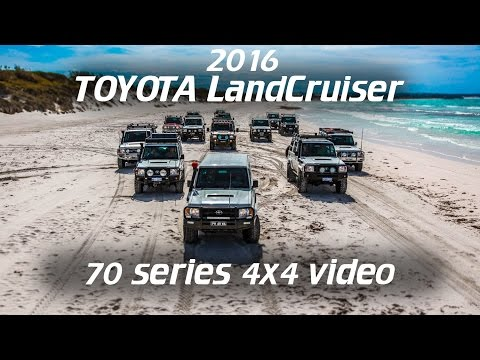 Toyota Landcruiser 70 Series 4x4 Action 2016