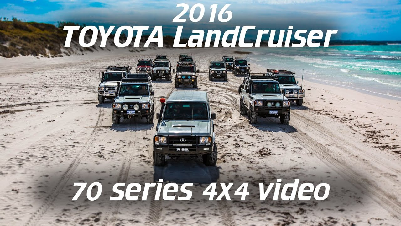 Toyota Landcruiser 70 Series 4x4 Action 2016 Youtube