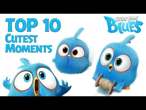 Angry Birds Blues - Top 10 Cutest Moment - YouTube