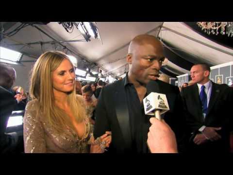 52nd GRAMMY Awards  Seal and Heidi Klum Interview