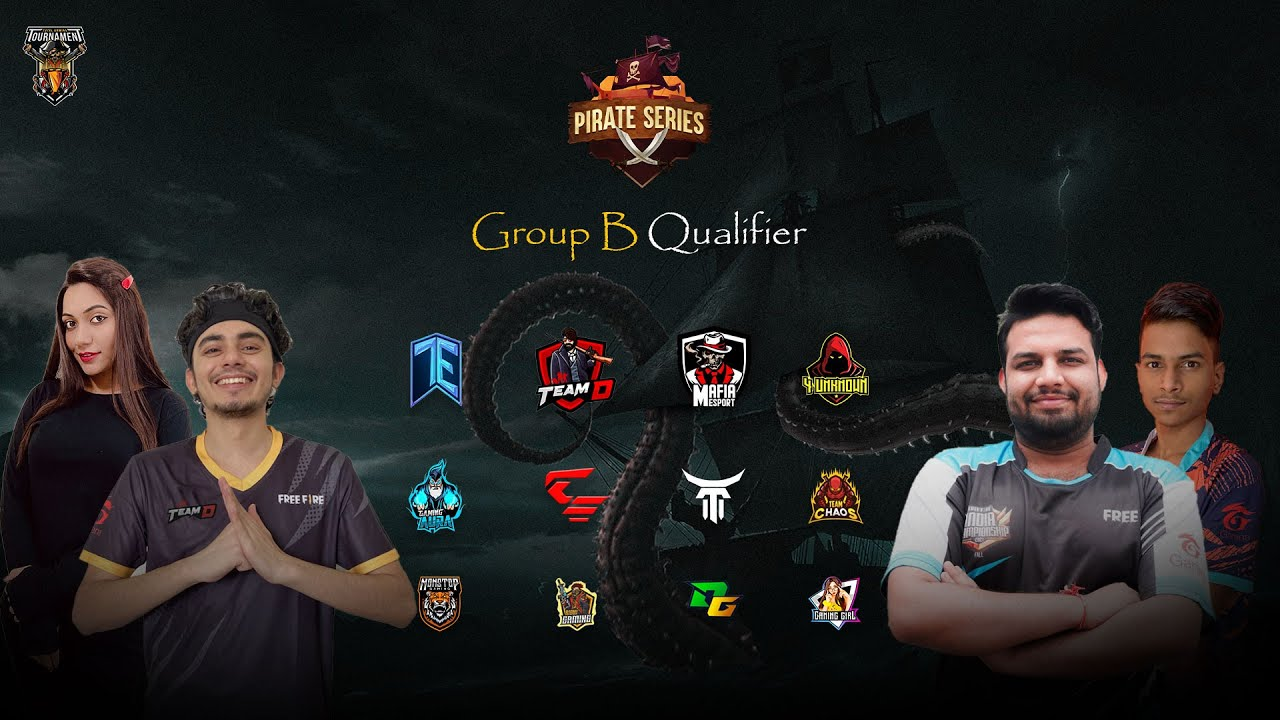 Download Pirate series Season 2 - Group B Qualifiers | Garena Free Fire Live