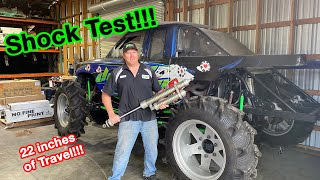 Mega Truck Shock Issues..... Almost Race Time!!!