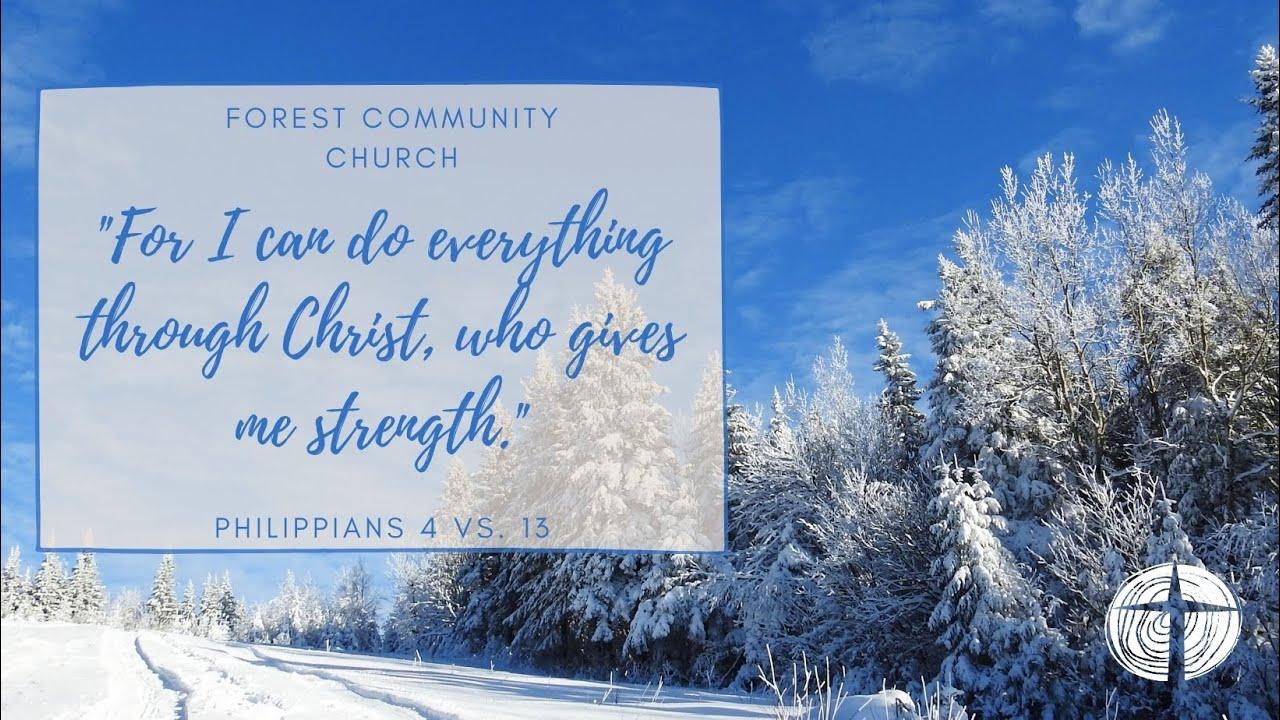 Forest Community Church 24th Jan 2021 Sunday Service