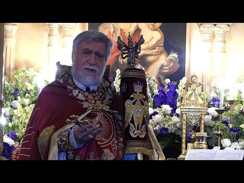 Celebration of 20 years of service of Aram I, Catholicos of Holy See of Cilicia