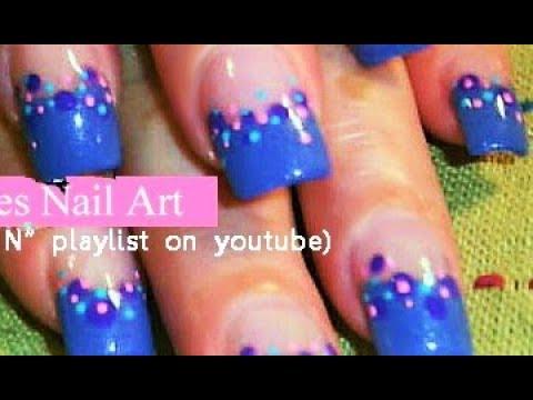 easy nail art for beginners  diy polka dot nail art