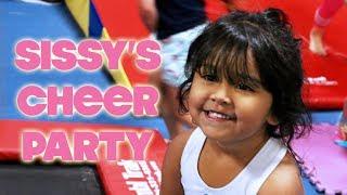 SISSY'S CHEERLEADING BIRTHDAY PARTY