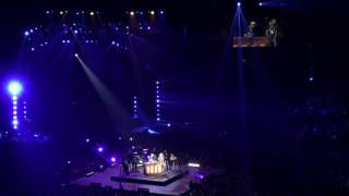 "Luke Bryan and Carrie Underwood singing ""I Told You So"" in Nashville 5/6/17"