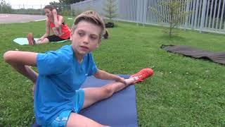 Упражнения для  шпагата  и гибкости позвоночника