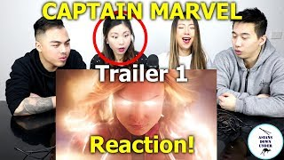 Marvel Studios' Captain Marvel - Official Trailer | Reaction - Australian Asians