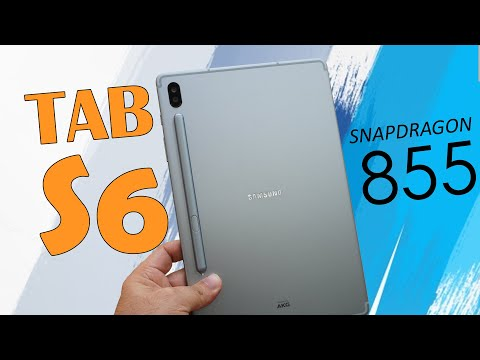 Samsung Galaxy Tab S6 Review - Snapdragon 855 powered, Best Android Tablet 😍💥🔥⚡
