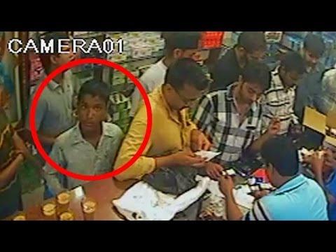 Chor / Pocket Maar In Ludhiana | Chori Caught On CCTV