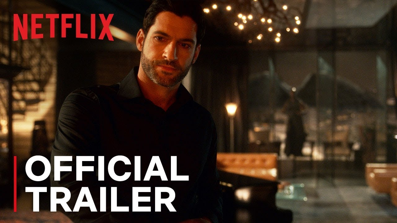 Lucifer Season 4 Official Trailer Hd Netflix Youtube