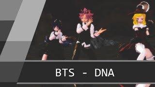MMD : Fairy Tail - DNA  [ BTS ]