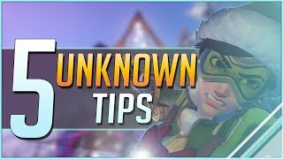 5 UNKNOWN OVERWATCH TIPS you should know!
