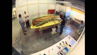 The Landing School Composite Boat Building Dinghy Infusion