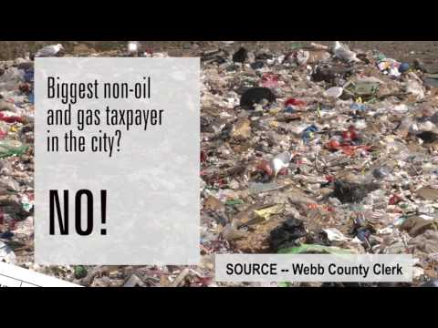 """How can we trust him?"" -- Citizens Against Laredo Landfill"