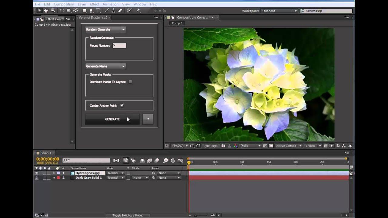 Voronoi Shatter introduction video
