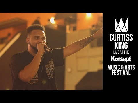 Curtiss King Live at The Konsept Music Festival 2016 (Highlights)