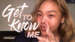 GET TO KNOW ME | vida misa