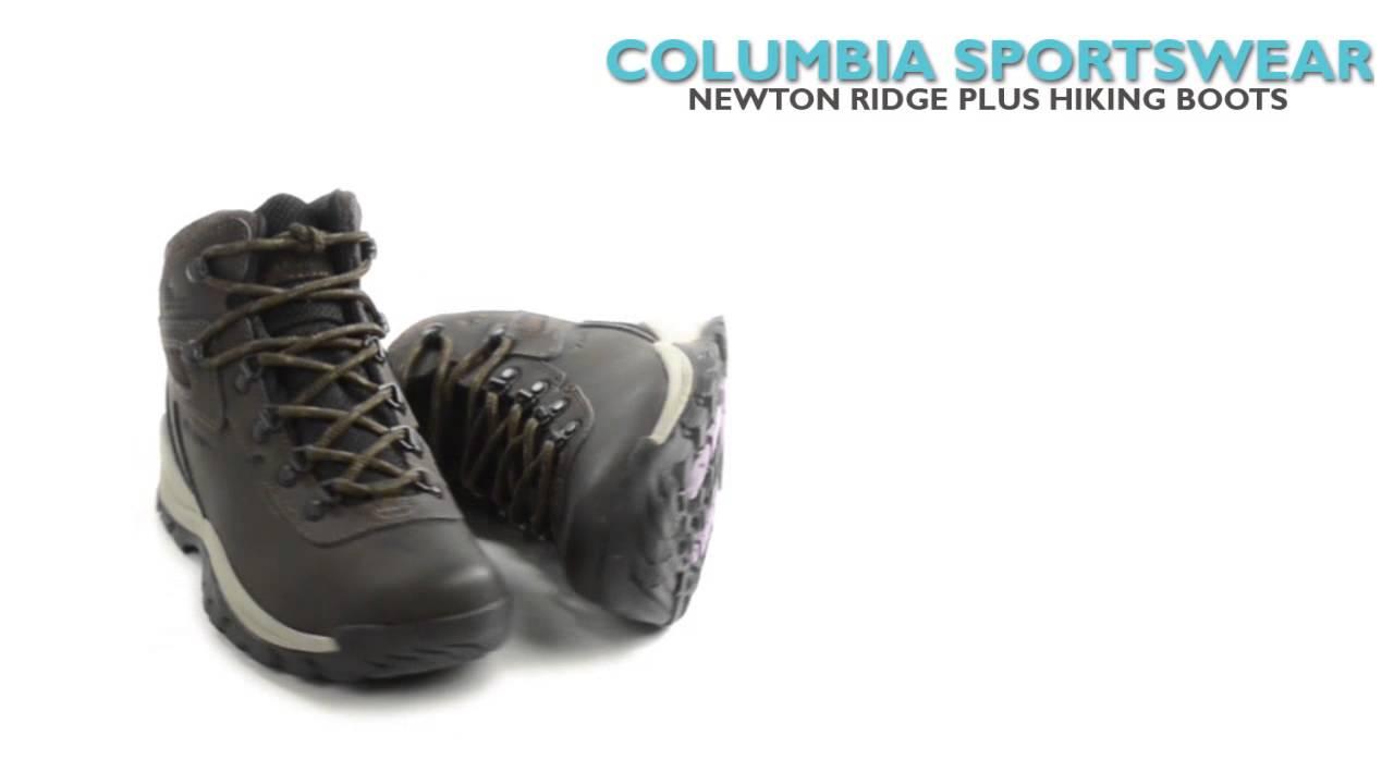 Columbia Sportswear Newton Ridge Plus Hiking Boots (For Women)