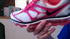 My NEW FAV SHOE Nike Air Max+ 2012 White/Grey-Pink-Silver Womens Running Shoes 487679-160