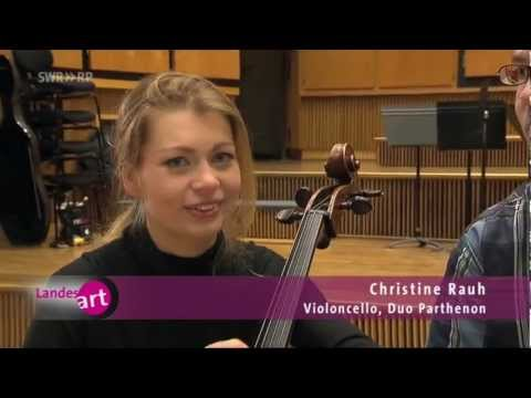 Duo Parthenon im TV (Christine Rauh -Cello, Johannes Nies -Piano)