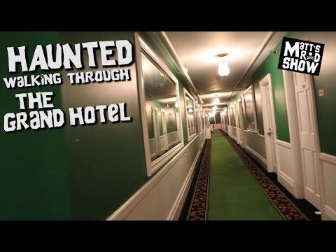 HAUNTED HOTEL - THE GRAND HOTEL - WALK THROUGH - Mackinac Island - Matt's Rad Show.
