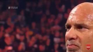 WWE Brock Lesnar Attack New Universal Champion Goldberg