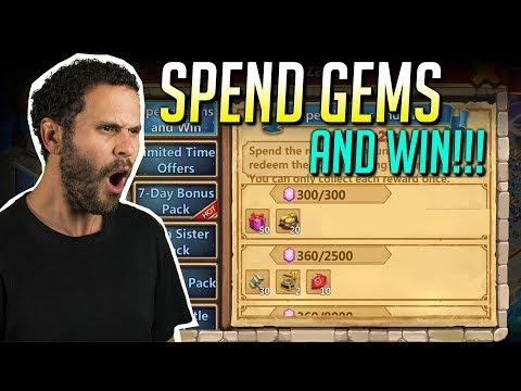 JT's F2P New Traits + Rolling Heroes Castle Clash