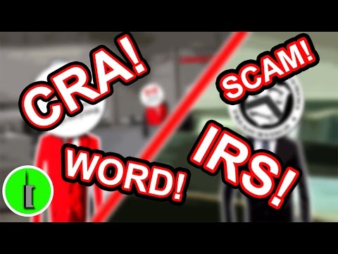 IRS Tax Scammers vs. CRA Tax Scammers! - The Hoax Hotel