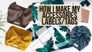 how to make clothes tags labels at home diy tutorial