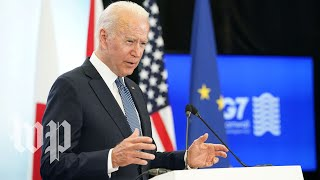 President Biden speaks after G-7 summit - 6/13 (FULL LIVE STREAM)