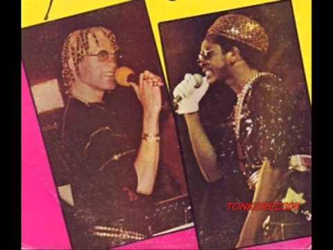 Yellowman Jamaica Sunsplah X, Negril, JA with Charlie Chaplin 1987