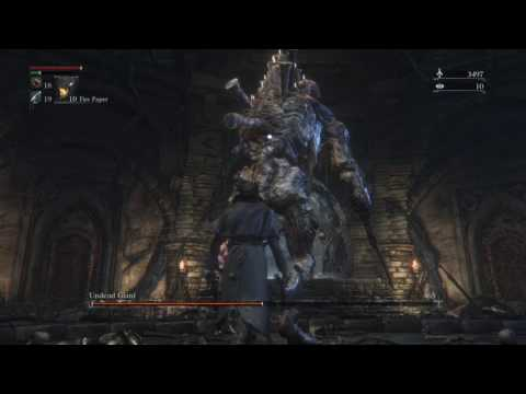 Bloodborne Chalice Waste of skin BL4 Undead Giant