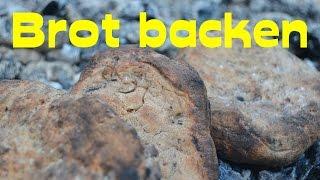 Brot backen auf der Glut. Genaue Anleitung & einfaches Brotteig Rezept!   Wanderfalke