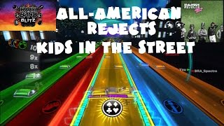 The All-American Rejects - Kids in the Street - @RockBand Blitz Playthrough (5 Gold Stars)
