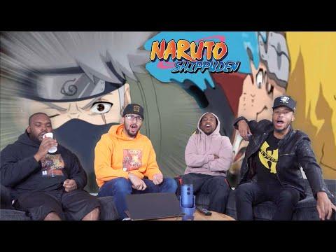 Kakashi&39;s Mangekyo Sharingan Naruto Shippuden 28 & 29 REACTIONREVIEW
