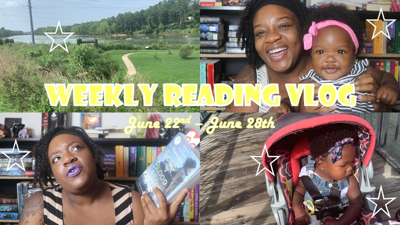 READING VLOG #21 // LOTS OF BOOK MAIL, BABY CLOTHES HAUL, NEW FAVORITE OF THE YEAR