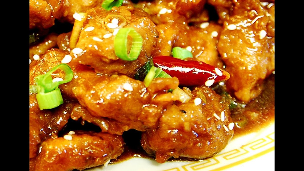 How to make general tsos pork authentic chinese cooking youtube forumfinder Image collections