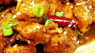 How to make, General Tso's Pork , Authentic Chinese Cooking.